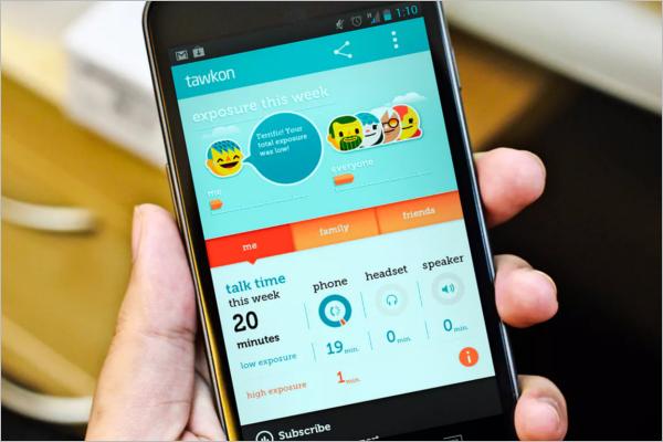 Android Mobile App Mockup Design