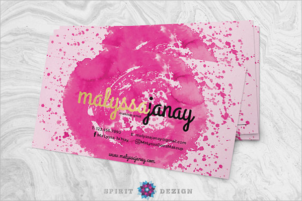 Appointment Card Design Sample