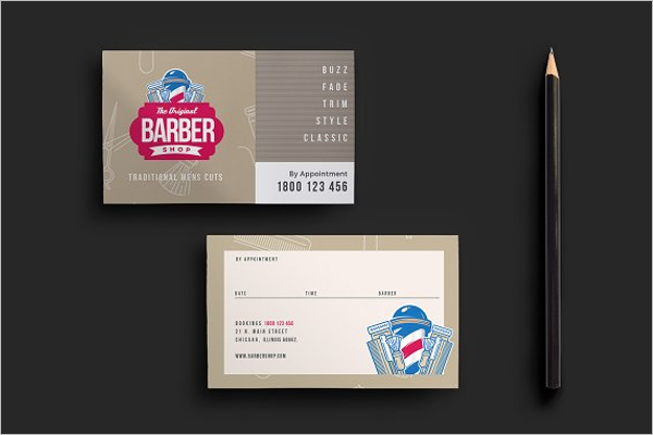 Appointment Remainder Card Template