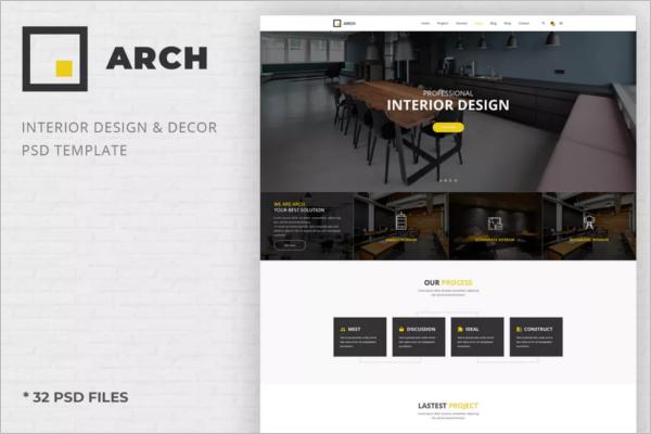 ArchitectureInterior design Template