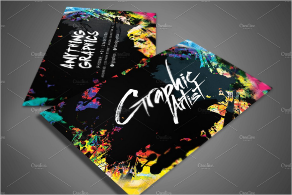 Artistic Design Business Card Template