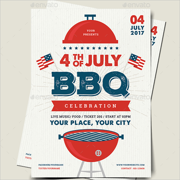 BBQ Flyer Design Template