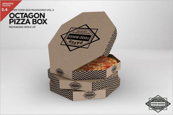 Baby Food Box Packaging Mockup