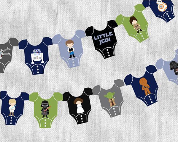 Baby Shower Boy Banner Idea