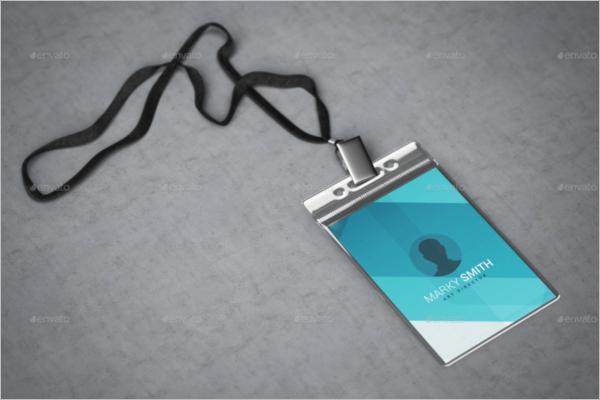 Badge Mockup Photoshop Design