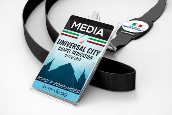 Badge Mockup Sample Design