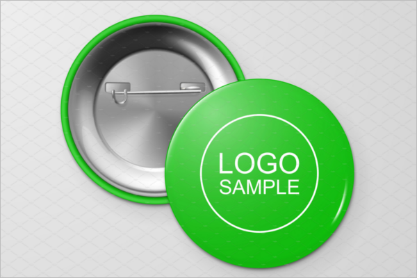 Badge Mockup Vector Design