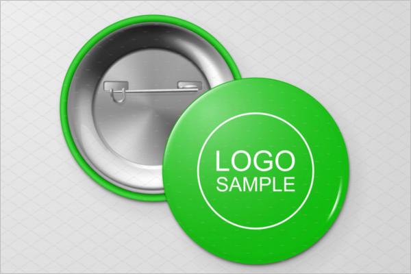 Badge Mockup Vector Design