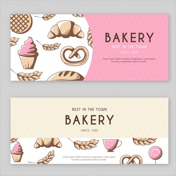 Bakery Banner Design Idea