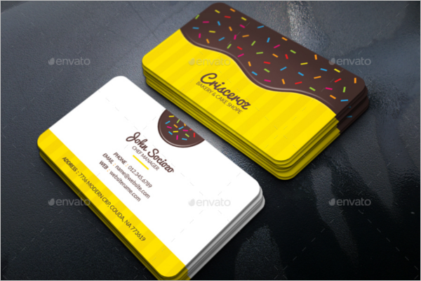 Bakery Business Card Design Template