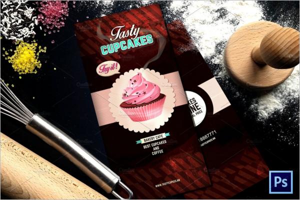 Bakery Cafe Menu Design