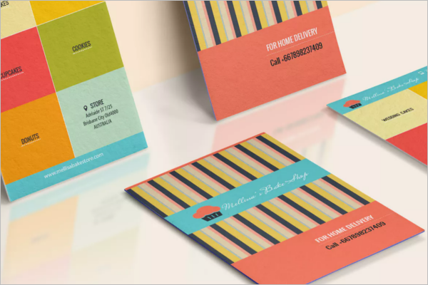 Bakery Shop Business Card Design