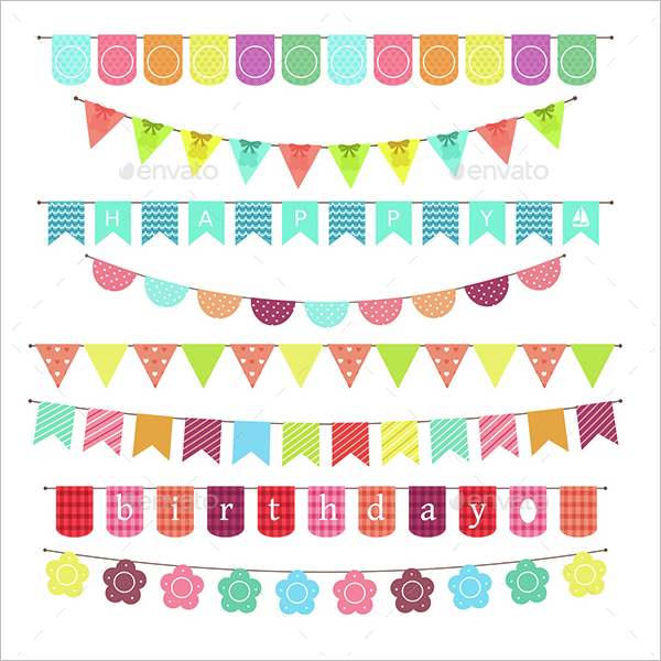 Banner Birthday Design Idea