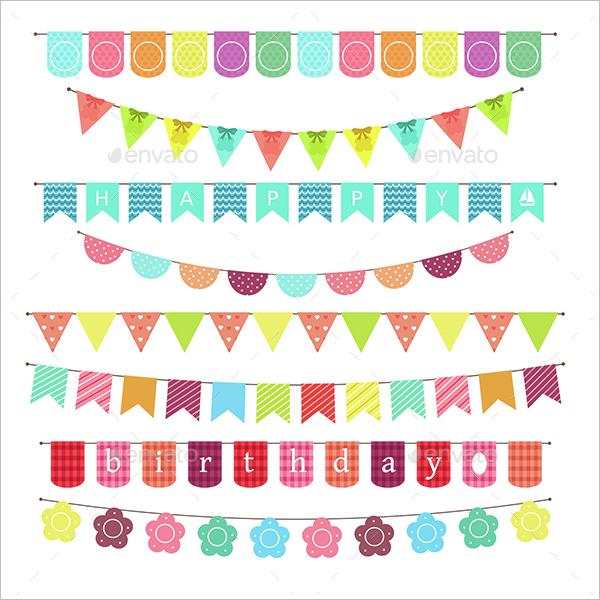 Banner Birthday Design Idea