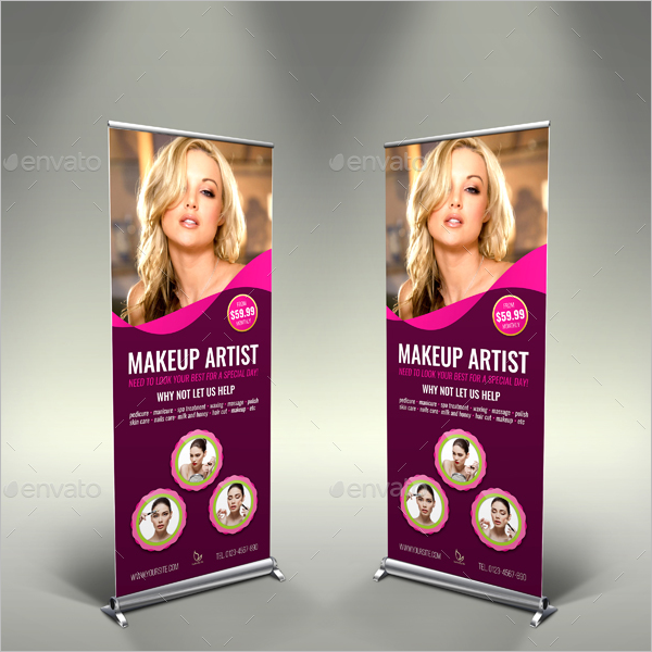 Banner Template For Beauty