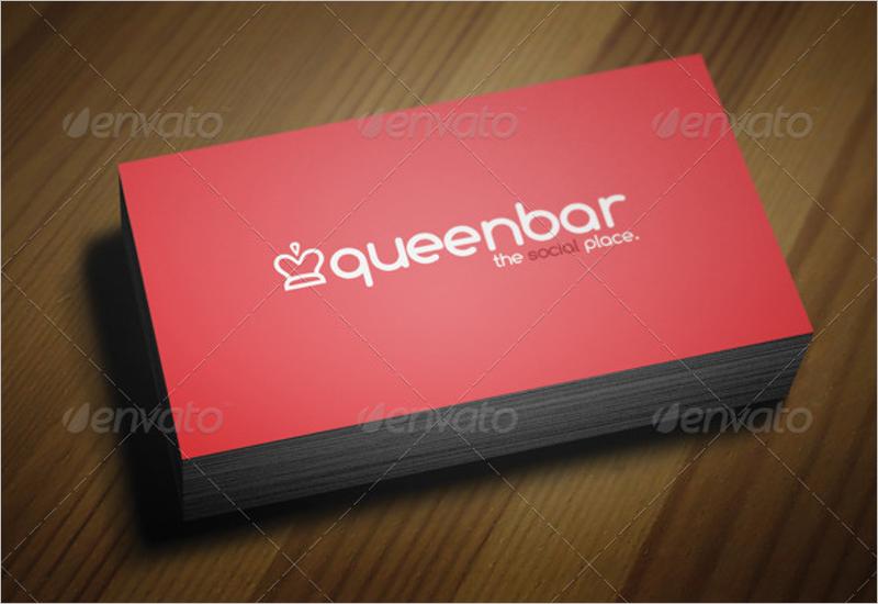 Bar & Restaurant Business Card Design
