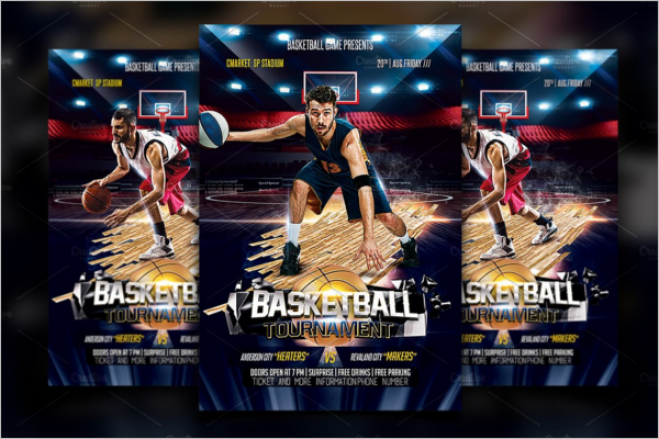 Basketball Flyer Templa