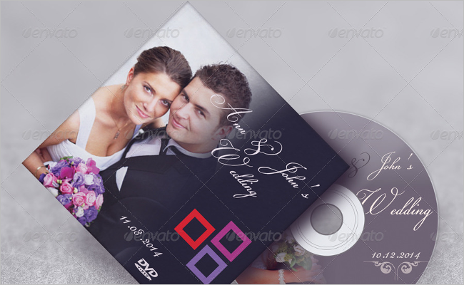 Photorealistic CD Cover Mockup Design