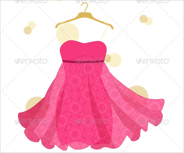 Beautiful Dress Design Template