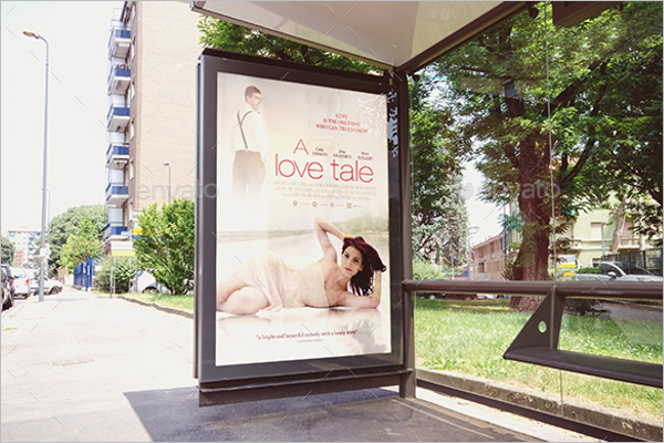 Beautiful Outdoor Poster Mockup Design
