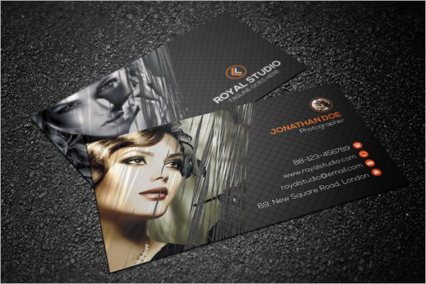 Beautiful Photography Business Card Design