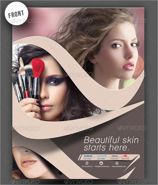 Beauty Center Flyer Template