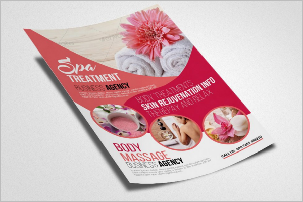 Beauty Clinic Flyer Template