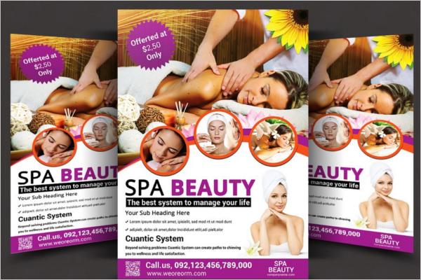 Beauty Salon Flyer Design Template