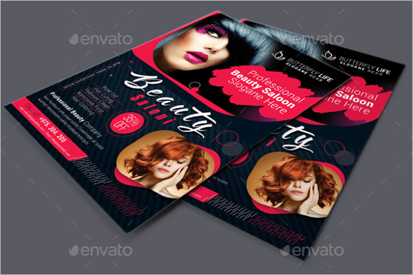 Beauty Salon Flyer Photoshop Design