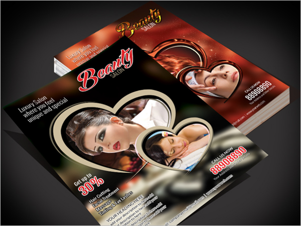 Beauty Salon Flyer Template Download