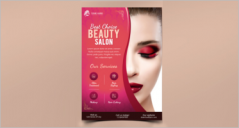 71+ Modern Beauty Salon Flyer Templates