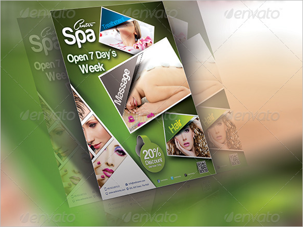 Beauty Salon Promotional Flyer Template