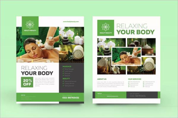 Beauty Treatment Flyer Design