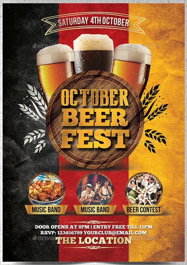 Beer Event Flyer Template
