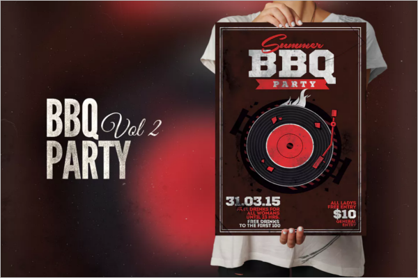 Best BBQ Flyer Template