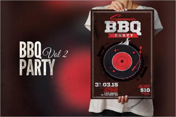 Best BBQ Flyer Template