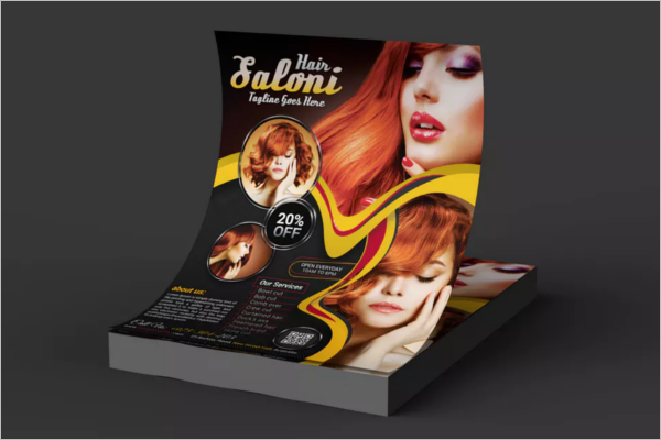 Best Beauty Salon Flyer Template