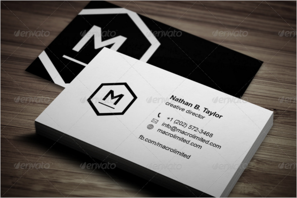 Best Black & White Business Card Design