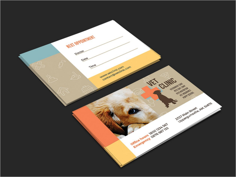 Best Clinic Business Card Design