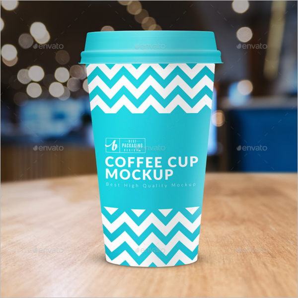 Best Coffee Cup Mockup Design