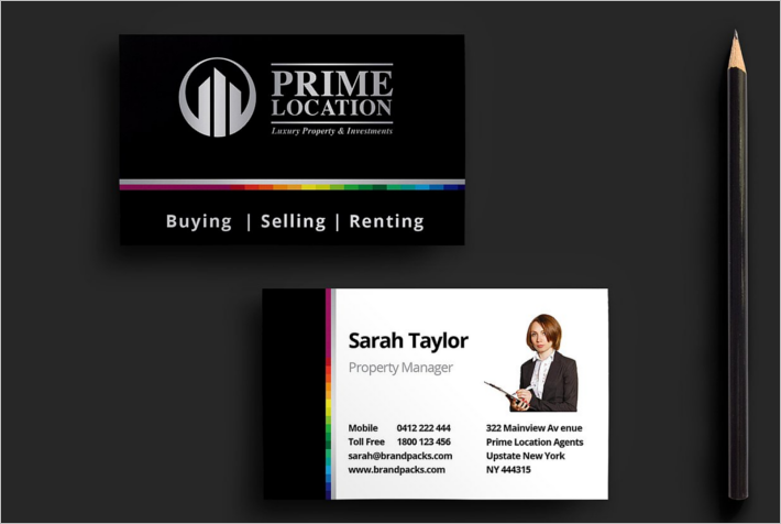 Best Company Business Card Design