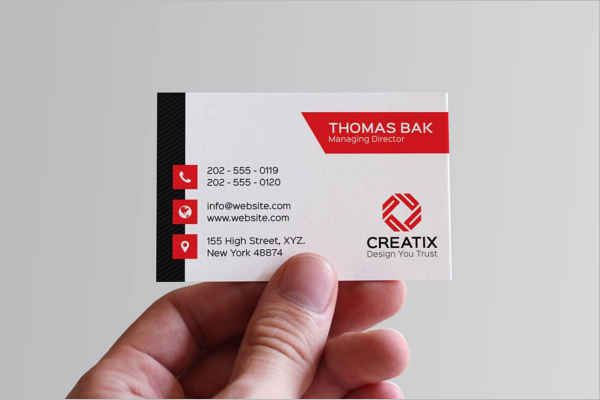 Best Corporate Business Card Template