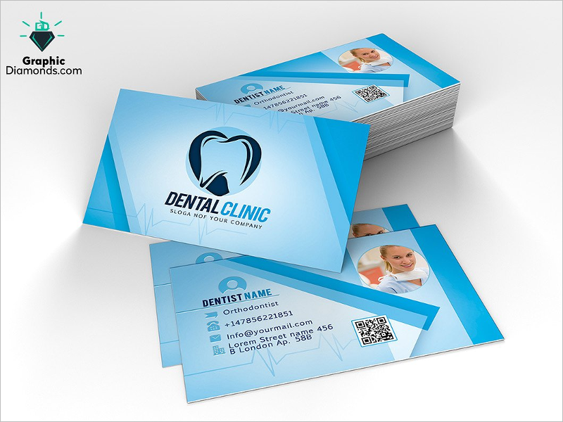 31 dental business card templates free psd vector download best dentist business card template colourmoves Gallery