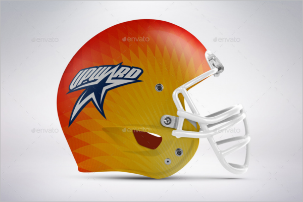 Best Football Helmet Mockup