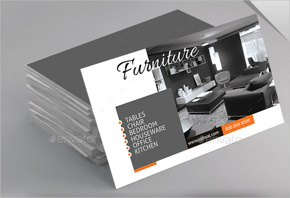 Best Furniture Business Card Design