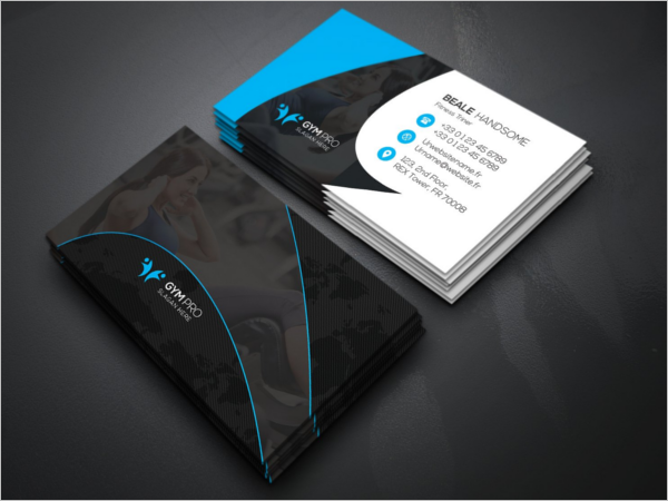 Best Gym Business Card Design Template