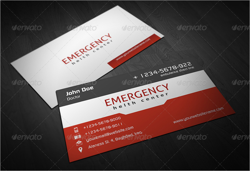 Best Hospital Business Card Template