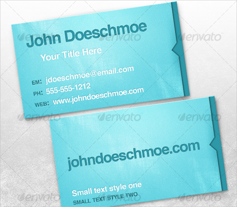 Best Letterpress Business Card Mockup Template