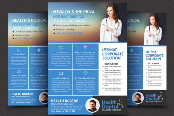 Best Medical Flyer Template
