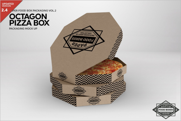 Best Pizza Box Mockup
